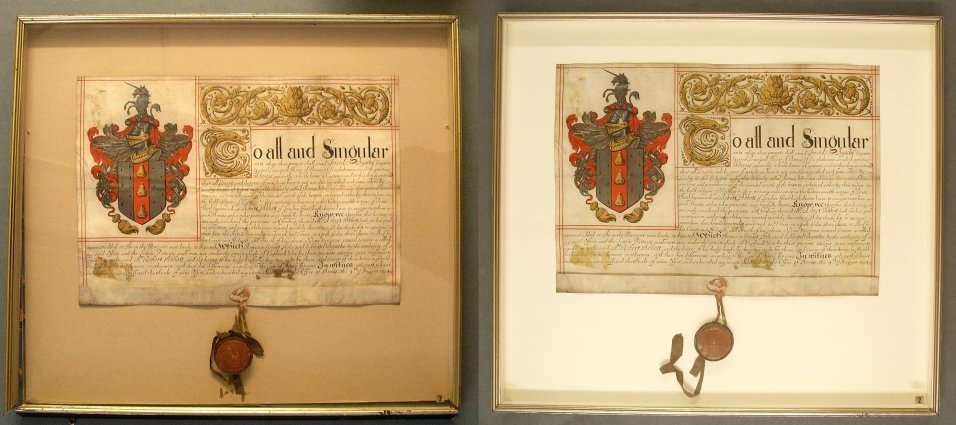 About Grant of Arms