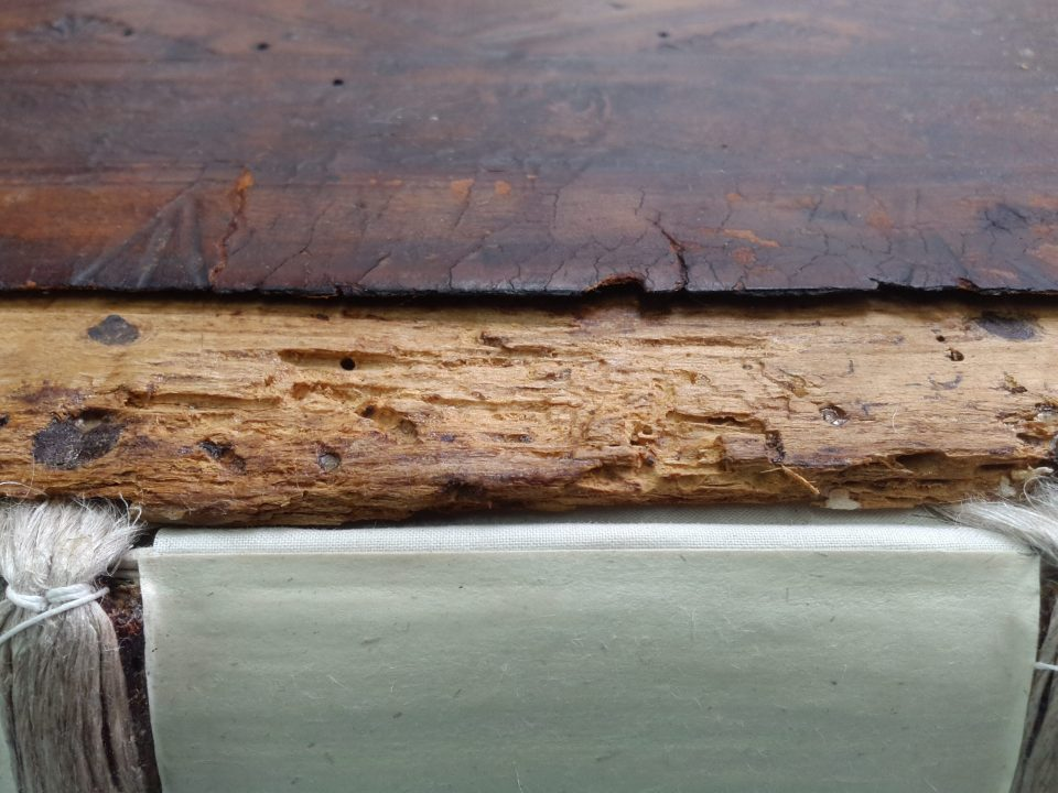 Joint Edge of Back Board